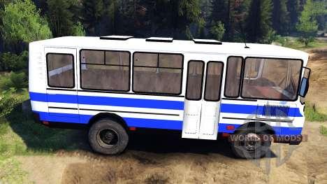 PAZ-3205 pour Spin Tires