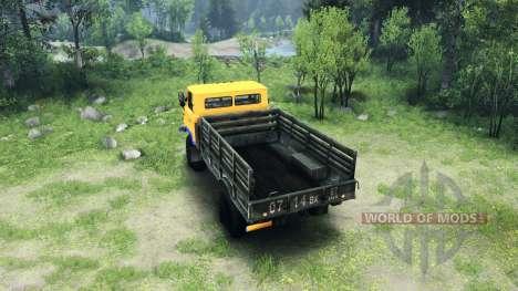Eine neue Farbe für GAZ-66 für Spin Tires