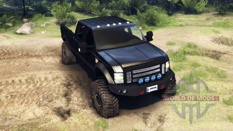 Ford F-350 Super Duty 6.8 2008 pour Spin Tires