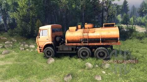 KamAZ-6522 pour Spin Tires