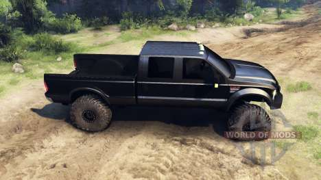 Ford F-350 Super Duty 6.8 2008 für Spin Tires