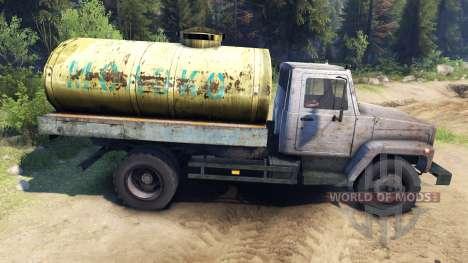 GAZ-3309 v1.1 für Spin Tires