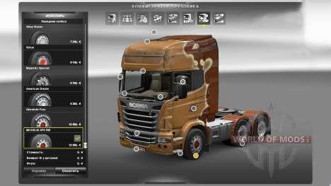 Michelin XPS Rib für Euro Truck Simulator 2