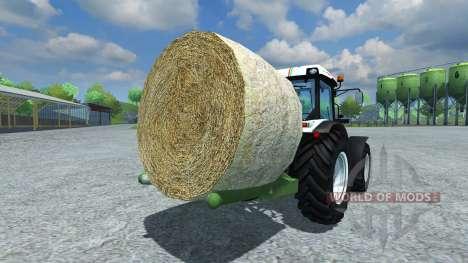 Music-Menges Bale Lifter pour Farming Simulator 2013