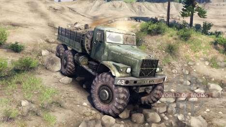 KrAZ-255 Monstre pour Spin Tires