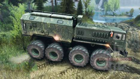 MAZ-535 Monstre pour Spin Tires