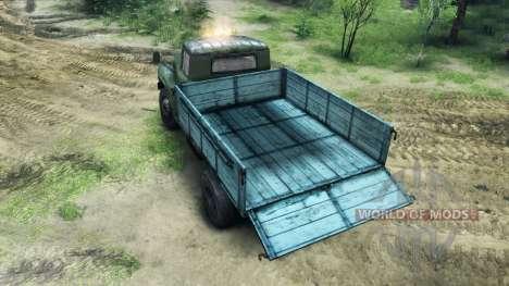 ZIL-130 dans une nouvelle couleur pour Spin Tires