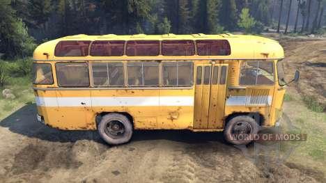 PAZ-3201 pour Spin Tires