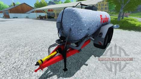 Fox-citerne 18500l pour Farming Simulator 2013