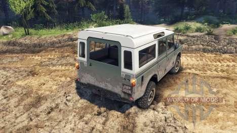 Land Rover Defender Cyan für Spin Tires