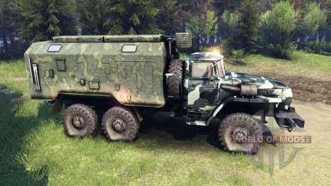 Ural-4320 camo v3 für Spin Tires