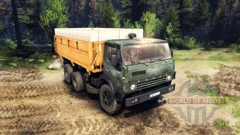 KamAZ-55102 v3.0 pour Spin Tires