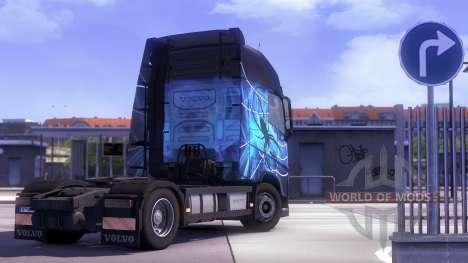 Volvo FH13 Tandem pour Euro Truck Simulator 2