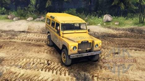 Land Rover Defender Camel Trophy Siberia pour Spin Tires