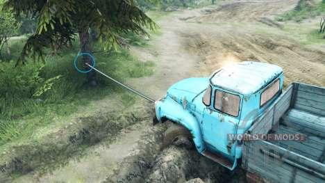 Haken der Winde für Spin Tires