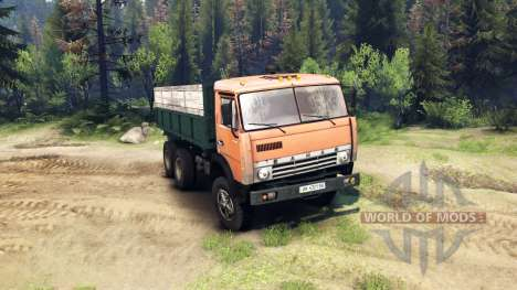 KamAZ-55102 v2.0 für Spin Tires