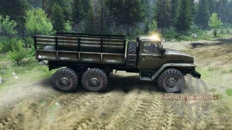 Ural-4320-Vorstand- für Spin Tires