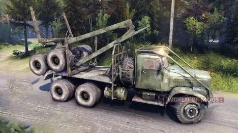 KrAZ-255 Straße für Spin Tires