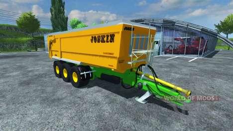 JOSKIN Trans-SPACE 8000-27 pour Farming Simulator 2013