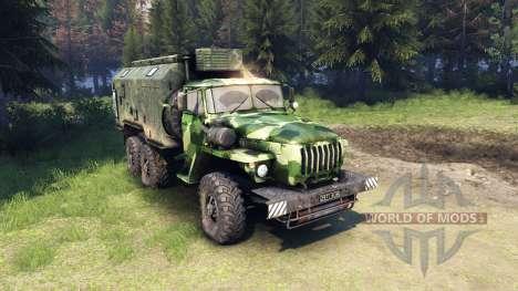 Ural-4320 camo v1 für Spin Tires