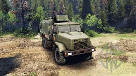 KrAZ-260 und KrAZ-63221 LKW (SKVO JAHRHUNDERTE) für Spin Tires