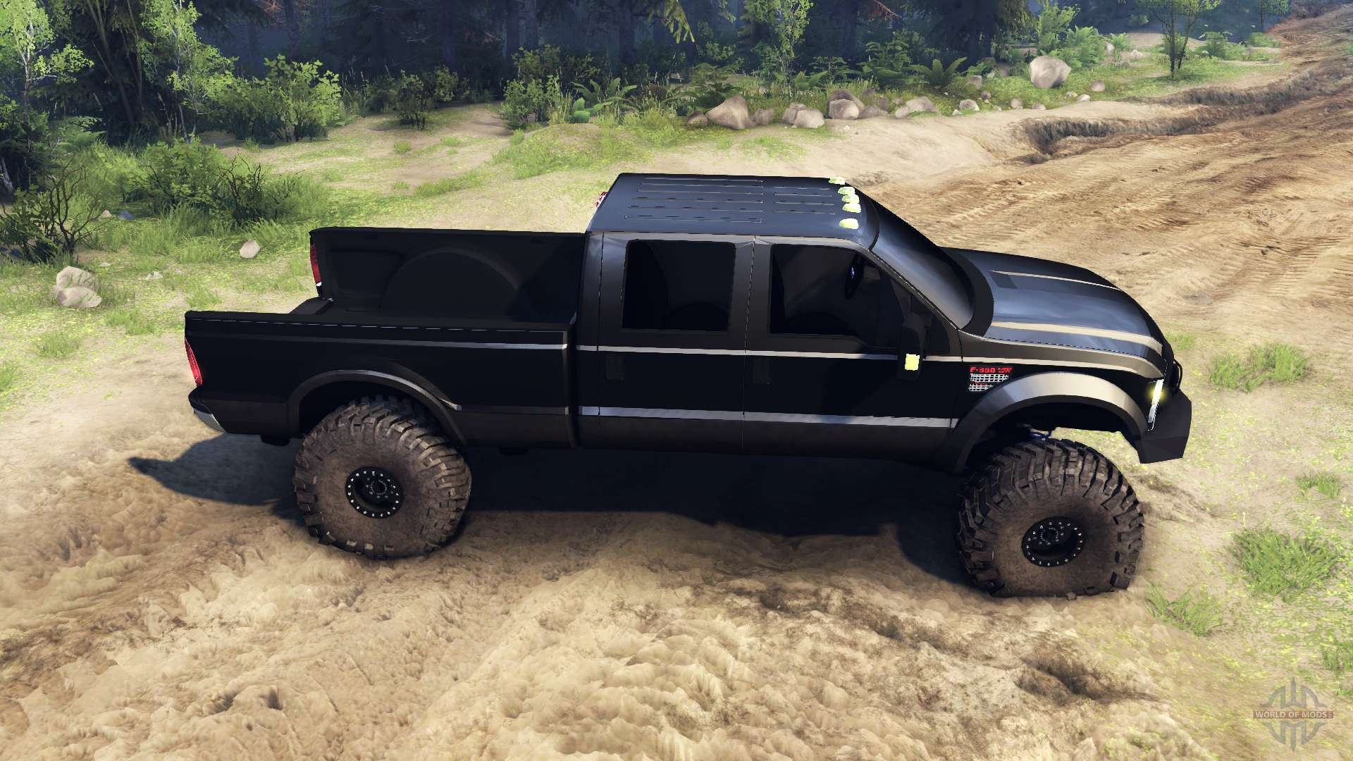 Ford f 350 super duty 6 8 2008 f r spin tires