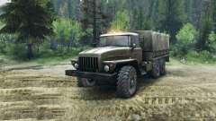 Ural-4320 Châssis