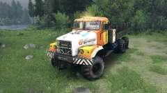 KrAZ-255 in einer neuen Farbe