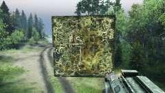 Holographique carte du Forestier