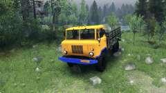 Eine neue Farbe für GAZ-66
