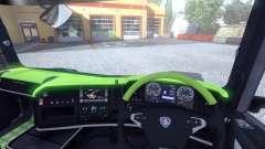 De l'intérieur pour Scania-Acide-