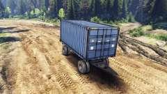 Remorque conteneur pour les ZIL-133 G1 et ZIL-13