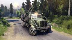 KrAZ-255 route