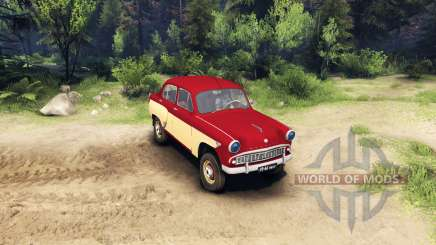 Moskwitsch-407 für Spin Tires