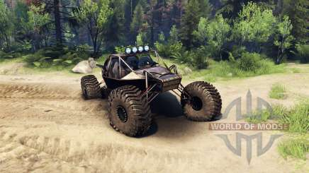 The Raakry v1.1 rusty pour Spin Tires