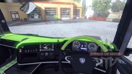 Innenraum für Scania-Säure- für Euro Truck Simulator 2