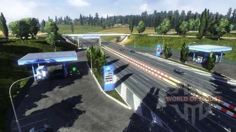 Station-service Aral pour Euro Truck Simulator 2