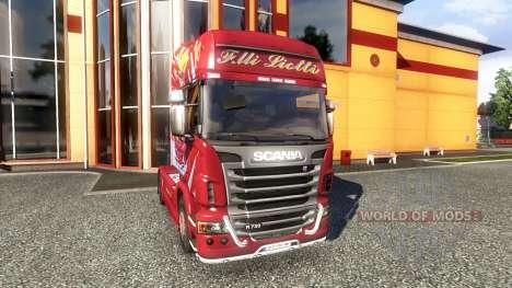 Color-Brüder Liotti - truck Scania für Euro Truck Simulator 2