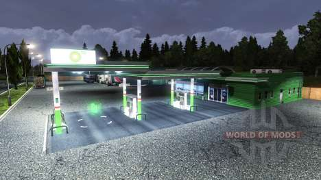 STATION BP pour Euro Truck Simulator 2