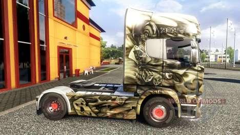Farbe-Sebus Joker - on-Zugmaschine Scania für Euro Truck Simulator 2