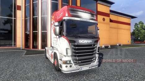 Couleur-R500 - camion Scania pour Euro Truck Simulator 2