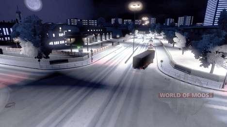 En plein hiver pour Euro Truck Simulator 2