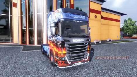 Farbe-ein ausgekochtes Schlitzohr - LKW Scania für Euro Truck Simulator 2