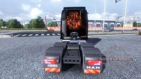 Farbe-Rammstein - über die LKW-MANN für Euro Truck Simulator 2