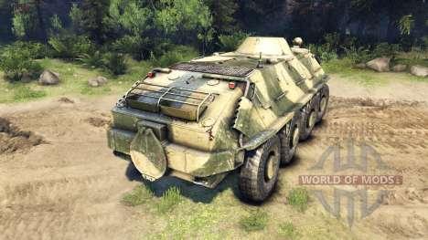 BTR-PB pour Spin Tires