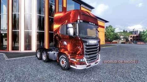 Farbe-Dragon - LKW Scania für Euro Truck Simulator 2