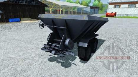 Düngerstreuer APF-8B für Farming Simulator 2013
