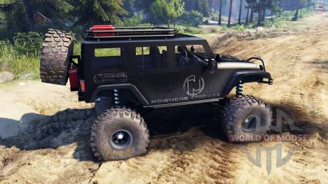 Jeep Wrangler Unlimited SID Nowhere pour Spin Tires
