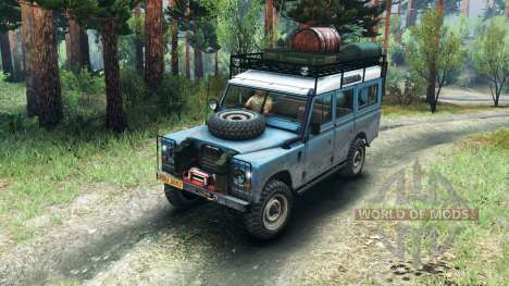 Land Rover Defender Series III v2.2 Blue für Spin Tires