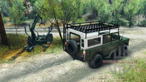 Land Rover Defender Series III v2.2 Green für Spin Tires